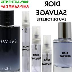 Dior Sauvage Eau de Toilette EDT Men's 3ml 5ml 10ml 33ml Dec