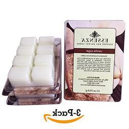 ESSENZA Scented Wax Warmer Cube Melts 7.5 oz   VANILLA SUGAR