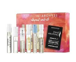SEPHORA FAVORITES Perfume Sampler 6+1= 7 FRAGRANCES No Certi