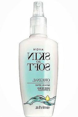 Avon Skin So Soft Bath oil 5 oz Spray Original Scent
