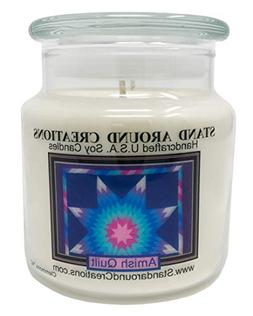 Premium 100% Soy Apothecary Candle - 16oz. Double Wicked - S
