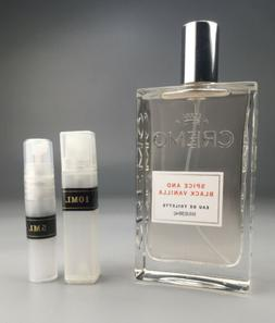 Cremo Spice and Black Vanilla 2ml 5ml 10ml EdT Cardmom Woods