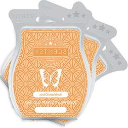 Scentsy, Sunkissed Citrus, Wickless Candle Tart Warmer Wax 3