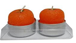 4EVER Tealights Candles Color Apple Orange Strawberry Shape