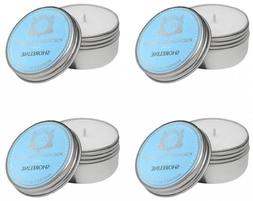 Aquiesse Travel Tin Candle Set, 4 Pack, Shoreline