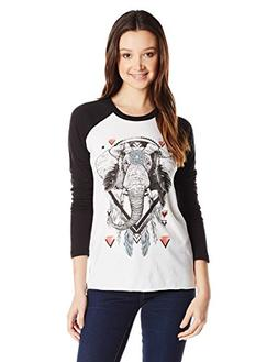 tribe graphic long sleeve raglan