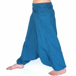 Trousers Ali Baba Harem Pants Aladdin Afghan Genie Hippy Yog