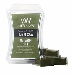 TWO – WoodWick Frasier Fir 3oz Scented Cubes-Tarts-Wax Mel