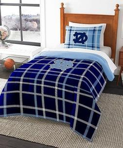 UNC tarheels twin comforter sham collegiate NCAA bedding set