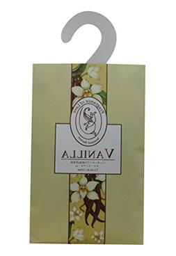 Feel Fragrance Vanilla Scented Sachet with Hanger for Closet