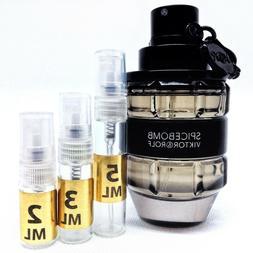 Viktor & Rolf Spicebomb EDT Perfume Sample Vial Travel Size
