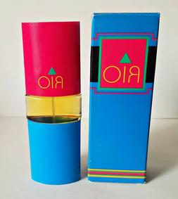 Vintage 1988 Avon RIO COLOGNE SPRAY 1.5 oz Box Discontinued