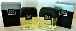 Vintage  Avon Black Suede Men's After Shave in Box Fragrance