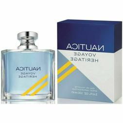 Voyage Heritage by Nautica cologne for men EDT 3.3 / 3.4 oz