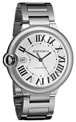Cartier Men's W69012Z4 Ballon Bleu Stainless Steel Automatic