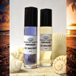 WOMENS DESIGNER FRAGRANCE PERFUME OIL Types YOU PICK SIZE /