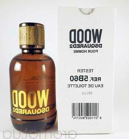 Dsquared2 Wood Pour Homme Men 3.4oz / 100ml EDT Spray *NEW I